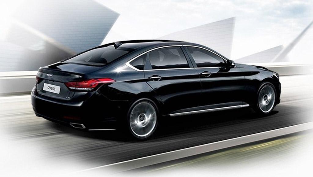 Hyundai Genesis 2015 back