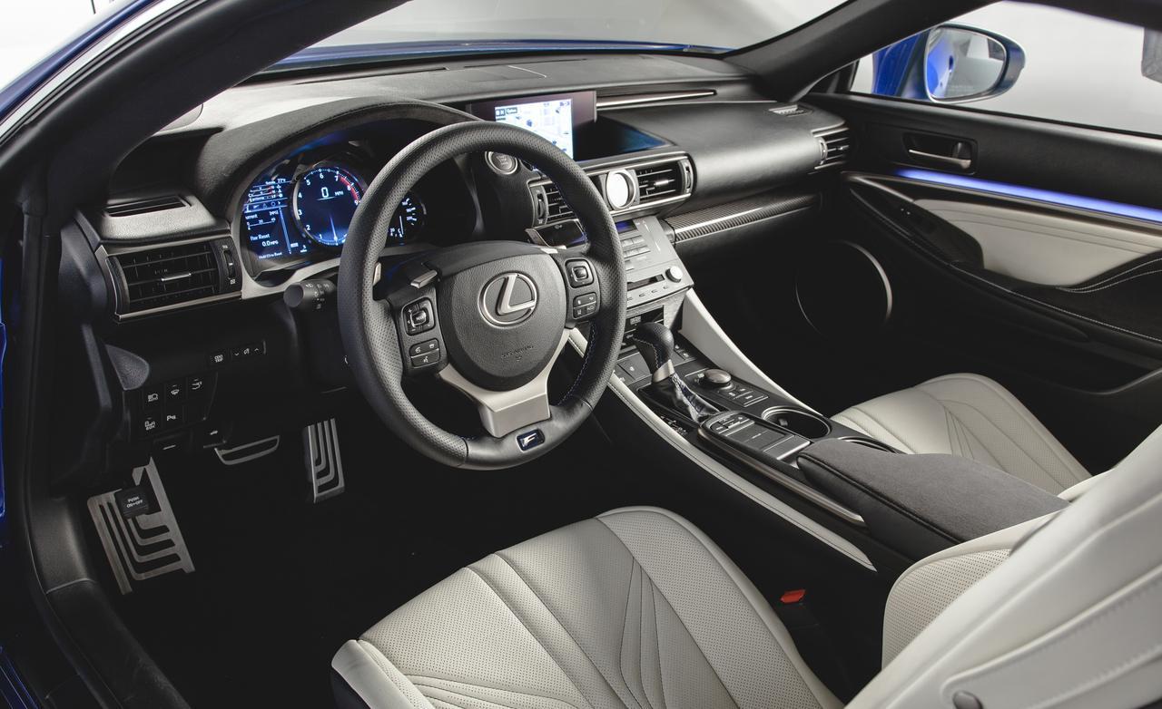 LEXUS RC-F 2015 interior