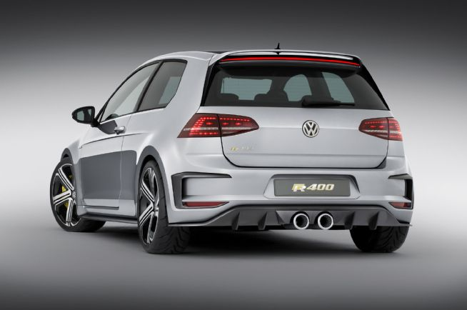Volkswagen Golf R400 back