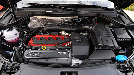Audi Q3 RS Engine