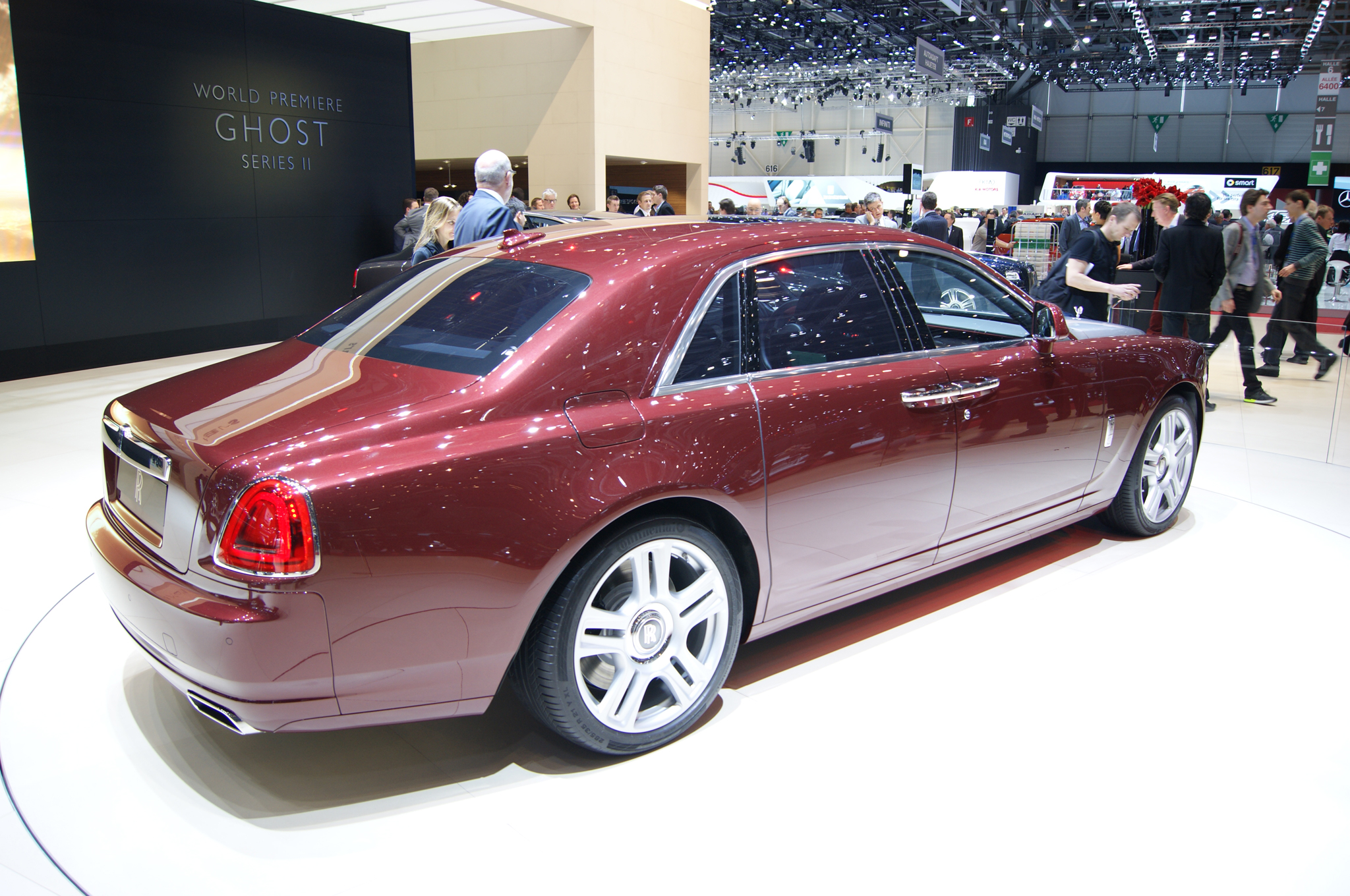 Rolls-Royce Ghost Series II back