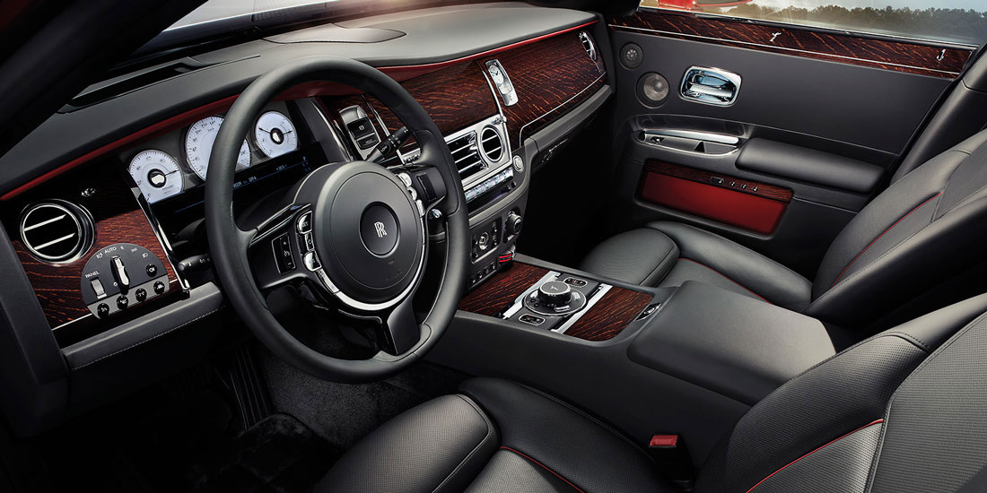 Rolls-Royce Ghost Series II interior