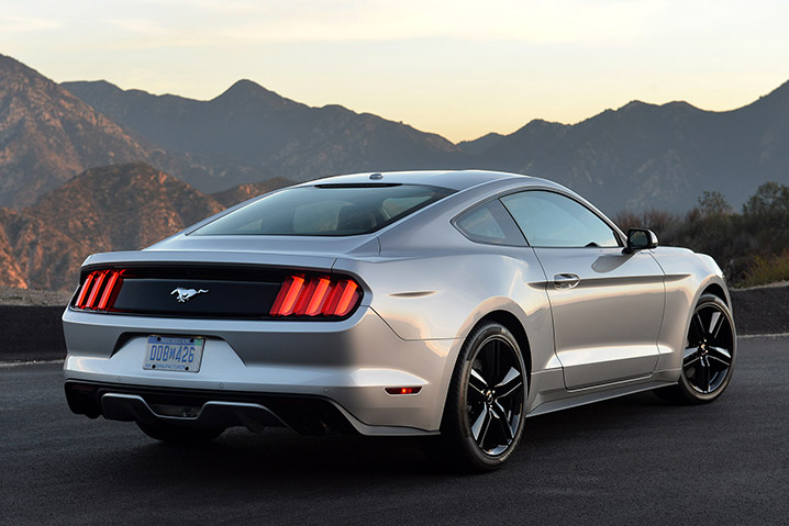 2015 Ford Mustang EcoBoost back