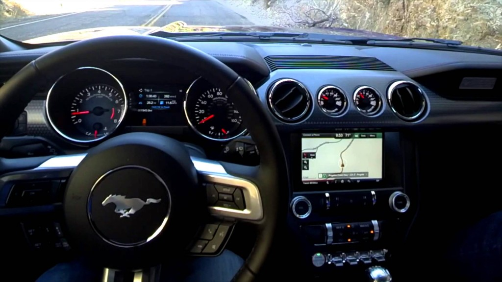 2015 Ford Mustang EcoBoost interior