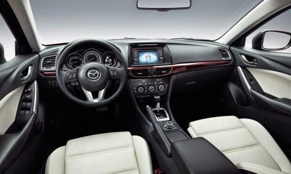 Mazda 2 2015 interior