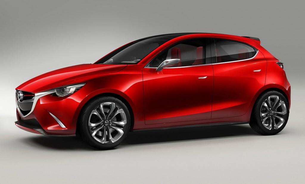 Mazda 2 2015 left