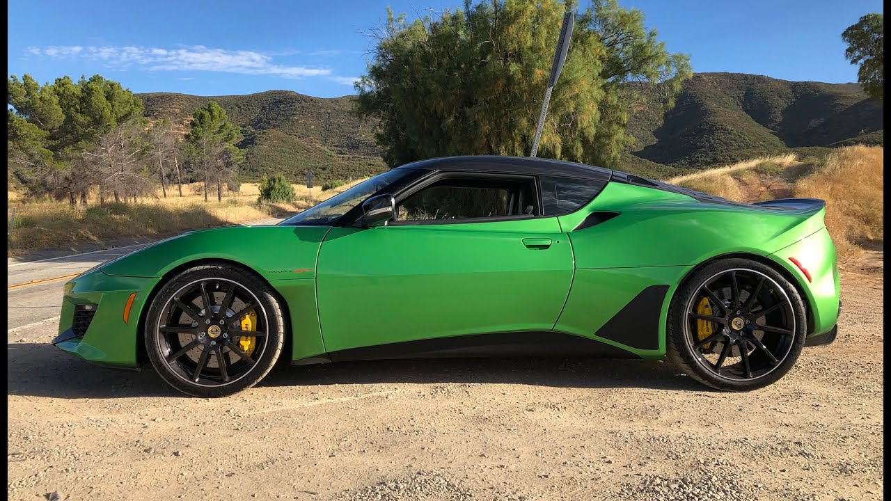 2020 Lotus Evora GT Coming to the U.S. With 416 HP