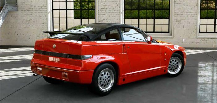 The Alfa Romeo SZ Made Ugly Look Good