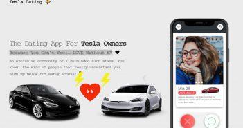 tesla app love